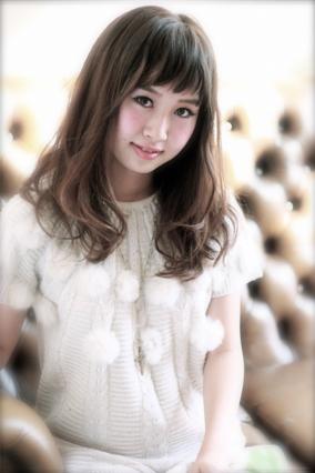 おシャ可愛☆紗栄子風バング×ナチュラルカール